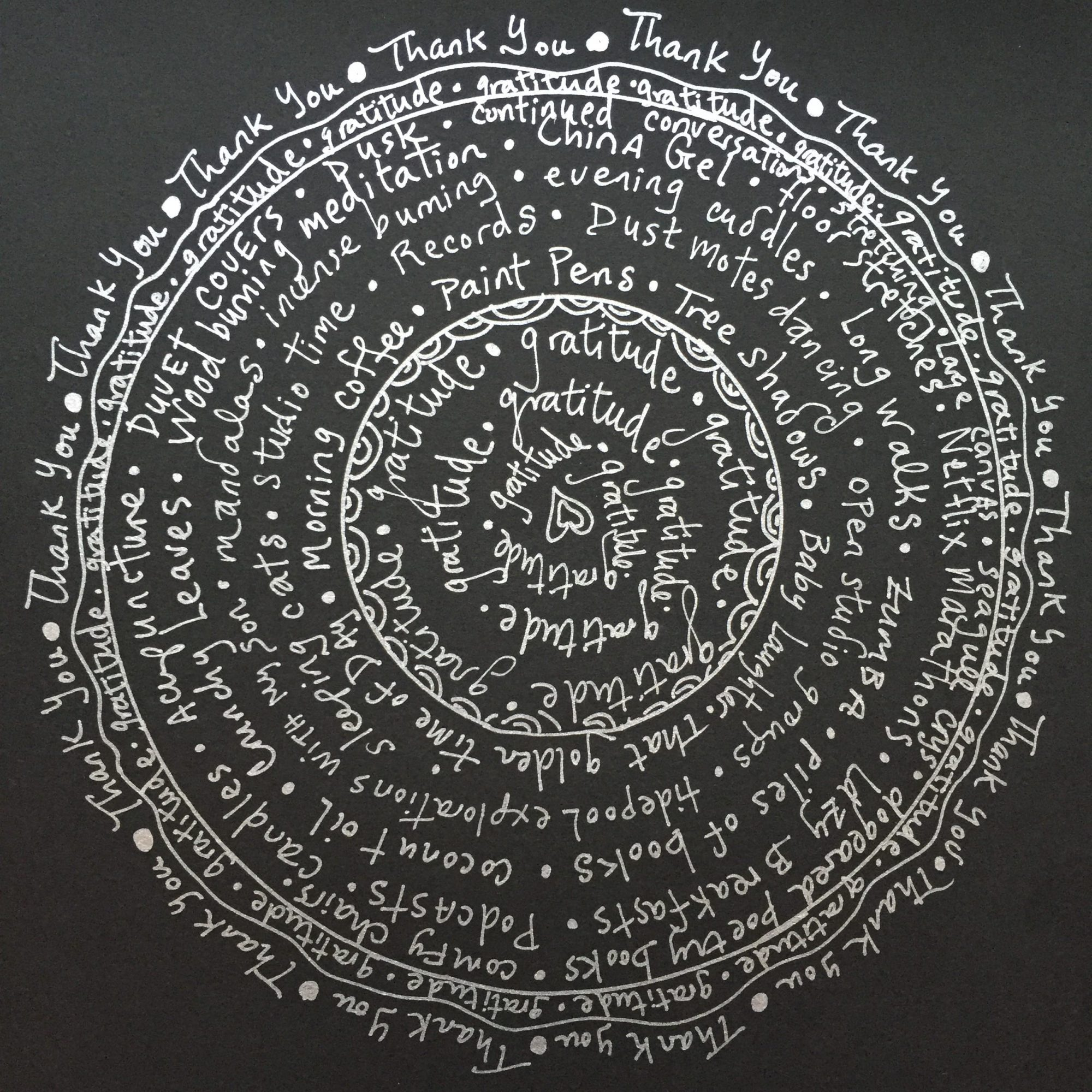 Art Therapy Spot Gratitude Mandalas