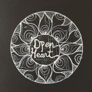 Open Heart Mandala Sara Roizen
