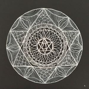 Heart Chakra Mandala Sara Roizen