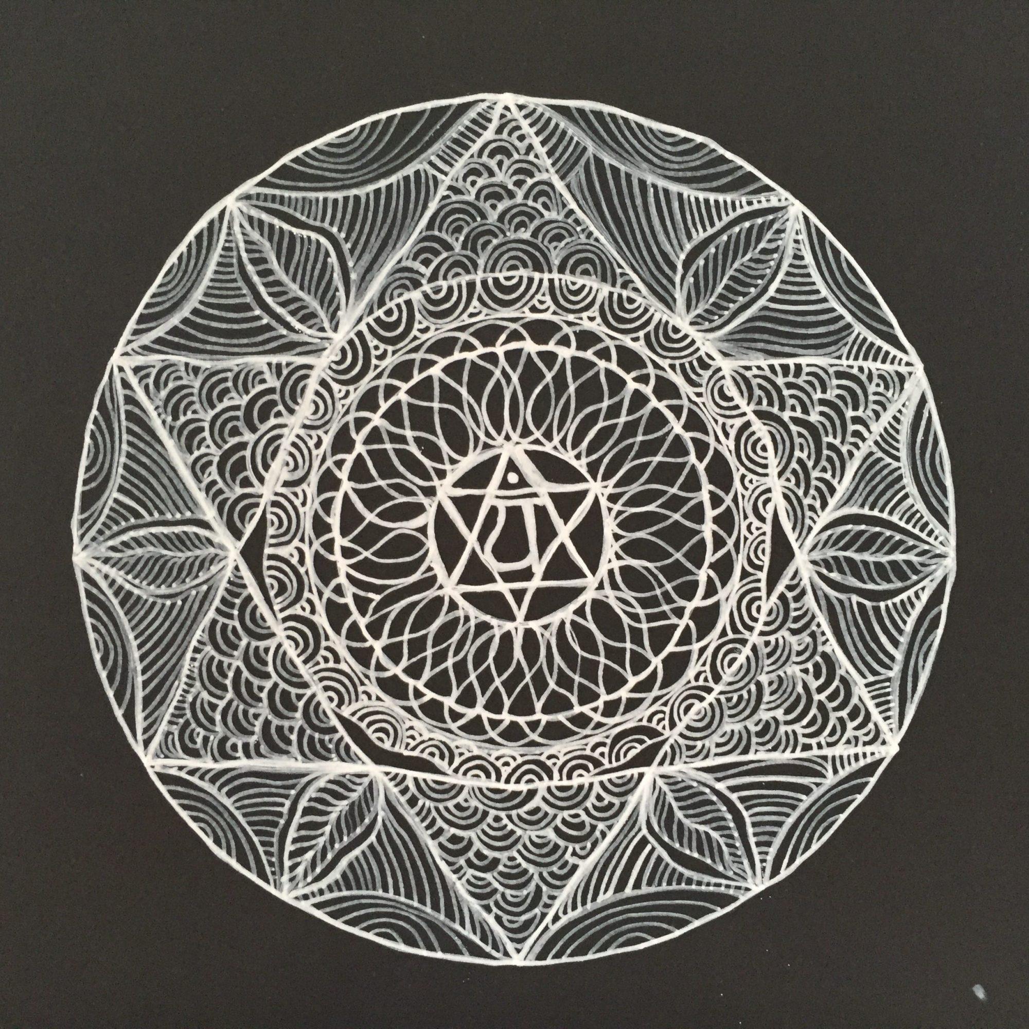 Art Therapy Spot – Intention Mandalas