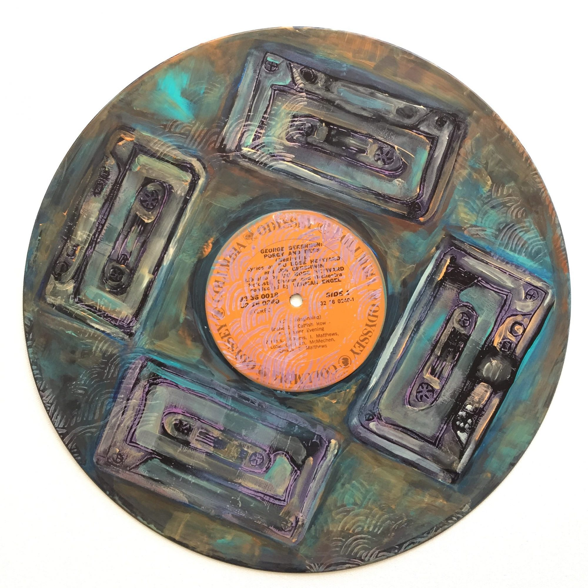Art Therapy Spot Vinyl Record Mandalas