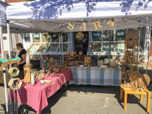 Wood Burning Art Booth
