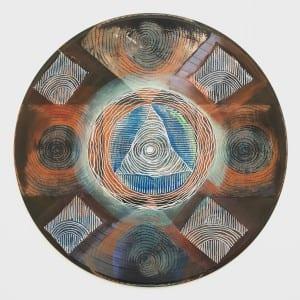 vinyl record mandala ~ Sara Roizen